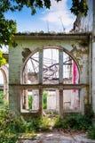 斯派塞家庭一个被放弃的豪宅  库存图片