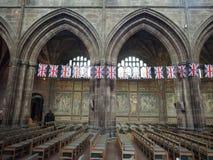 彻斯特大教堂在彻斯特 免版税图库摄影