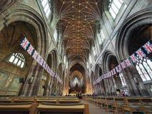 彻斯特大教堂在彻斯特 免版税库存照片