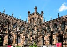 彻斯特大教堂 库存图片
