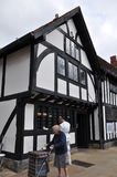 斯特拉福在Avon在英国 库存照片