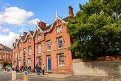 斯特拉福建筑学Avon的,英国,英国 免版税库存照片