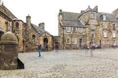 斯特灵城堡在夏天,苏格兰 库存照片