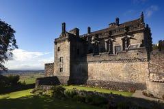 斯特灵城堡的王宫 免版税库存图片