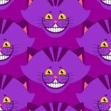 彻斯特猫微笑样式 在wonde的纹理意想不到的宠物阿丽斯 库存图片