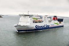 斯特纳线巡航小船 库存照片