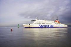 斯特纳线超高速的轮渡 免版税库存照片