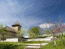 斯特雷哈亚修道院 免版税库存照片