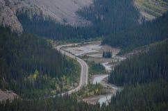 贾斯珀国家公园 免版税库存照片