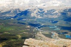 贾斯珀国家公园 免版税库存图片