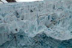 斯瓦尔巴特群岛冰川 库存照片