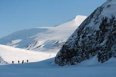 斯瓦尔巴特群岛挪威 库存图片