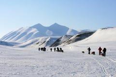 斯瓦尔巴特群岛挪威 库存照片