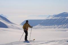 斯瓦尔巴特群岛挪威 图库摄影