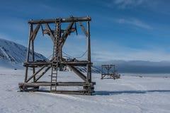 斯瓦尔巴特群岛,挪威 库存照片