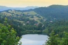 维斯瓦山景 库存图片