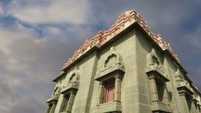 斯瓦米・维韦卡南达纪念品--曼达帕姆,科摩林角, Tamilnadu,印度 股票录像