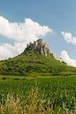 斯皮城堡, Spisske Podhradie,联合国科教文组织 库存照片