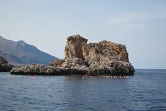 斯科佩洛看法从小船的 图库摄影