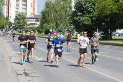 斯科普里马拉松2017年 库存图片