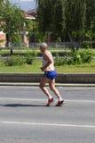 斯科普里马拉松2017年 库存照片