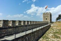 斯科普里,马其顿共和国- 2017年5月13日:斯科普里堡垒无头甘蓝堡垒在老镇,马其顿 图库摄影