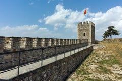 斯科普里,马其顿共和国- 2017年5月13日:斯科普里堡垒无头甘蓝堡垒在老镇,马其顿 免版税图库摄影