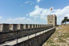 斯科普里,马其顿共和国- 2017年5月13日:斯科普里堡垒无头甘蓝堡垒在老镇,马其顿 免版税库存图片