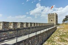斯科普里,马其顿共和国- 2017年5月13日:斯科普里堡垒无头甘蓝堡垒在老镇,马其顿 免版税库存照片