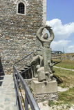 斯科普里,马其顿共和国- 2017年5月13日:斯科普里堡垒无头甘蓝堡垒在老镇 免版税库存照片