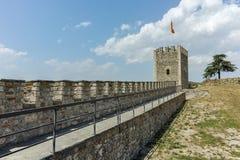 斯科普里,马其顿共和国- 2017年5月13日:斯科普里堡垒无头甘蓝堡垒在老镇 免版税库存图片