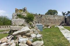 斯科普里,马其顿共和国- 2017年5月13日:斯科普里堡垒无头甘蓝堡垒在老镇 库存图片