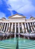 斯科普里,马其顿首都全国考古学博物馆  免版税库存图片