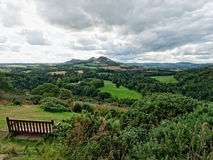 斯科特的观点在苏格兰边区,苏格兰 库存图片