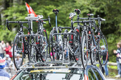 斯科特自行车-环法自行车赛2014年 库存照片