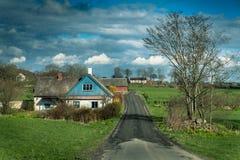 斯科讷县, Skane lan,南瑞典 免版税库存照片