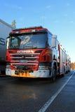 斯科讷P320消防车 免版税库存照片