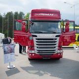 斯科讷R450 Topline欧元6卡车 免版税库存图片