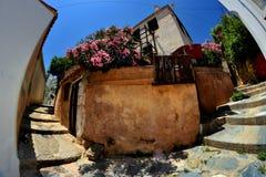 斯科派洛斯岛希腊 免版税库存照片