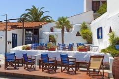 斯科派洛斯岛海岛在希腊 库存照片