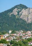 斯莫梁岩石在保加利亚 免版税库存图片