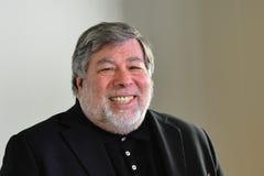 斯蒂夫・沃兹尼亚克-共同创立者苹果电脑 库存照片