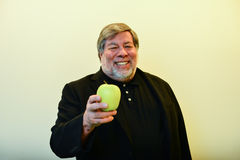 斯蒂夫・沃兹尼亚克-共同创立者苹果电脑 库存图片