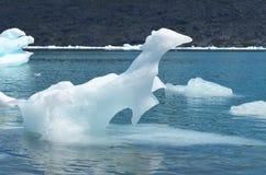 斯蒂芬冰川在园地de Hielo苏尔南部的巴塔哥尼亚人的冰原,智利巴塔哥尼亚 免版税图库摄影