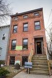 斯蒂芬和哈丽梅尔思住所-阿尔巴尼, NY 免版税库存照片