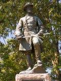 斯蒂芬莳萝李南北战争纪念碑 库存照片