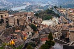 斯蒂洛,卡拉布里亚,意大利 免版税库存图片