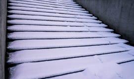 斯诺伊楼梯 库存图片