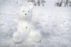 斯诺伊涉及雪背景  免版税图库摄影