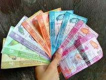 斯里兰卡现金另外金钱 免版税库存图片